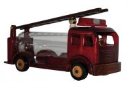 Feuerwehrauto mit Leiter in Geschenkverpackung