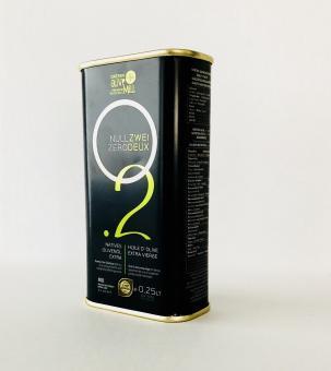 Premium Olivenöl extra-250 ml Dose mit Ausgießer