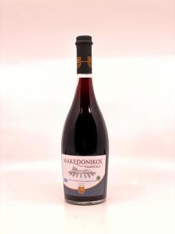 Makedonikos Rotwein halbtrocken
